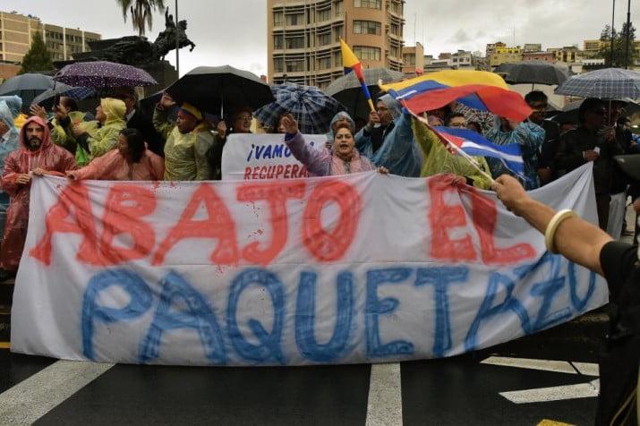 """Ecuador: Lenin Moreno decreta """"estado de excepción"""" para contener las protestas"""