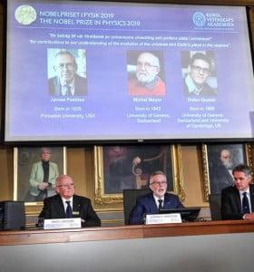 Premio Nobel de Física: distinguieron a científicos que investigan el universo