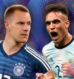 Sin Messi, Argentina se mide ante una debilitada Alemania en Dortmund