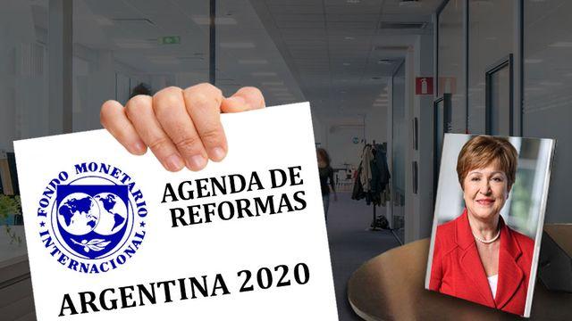 FMI: no habrá más plata si antes no se compromete una agenda de reformas
