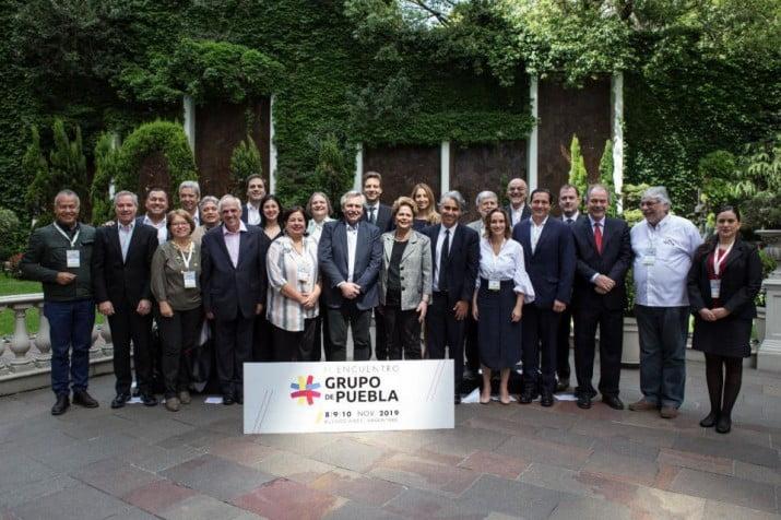El Grupo de Puebla respaldó a Evo Morales