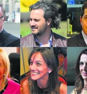 Las mujeres y los hombres que acompañarían al presidente electo