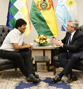Alberto ofrecerá asilo a Evo Morales cuando asuma