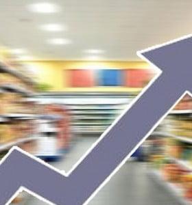 Sube y baja: la inflación se desacelera, alimentos y naftas ascienden