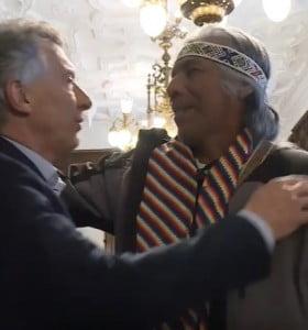 Sueldo originario: Macri le dio un cargo a Félix Díaz por el que cobrará $ 95 mil