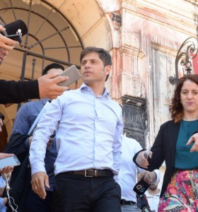 El gobernador ya tiene gabinete, pero espera por Alberto