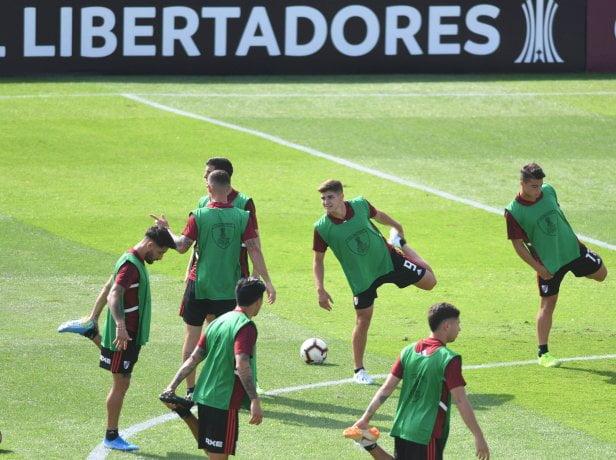 River confirmó el equipo con Borré y Suárez como delanteros