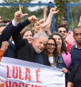 Lula libre ya es una realidad