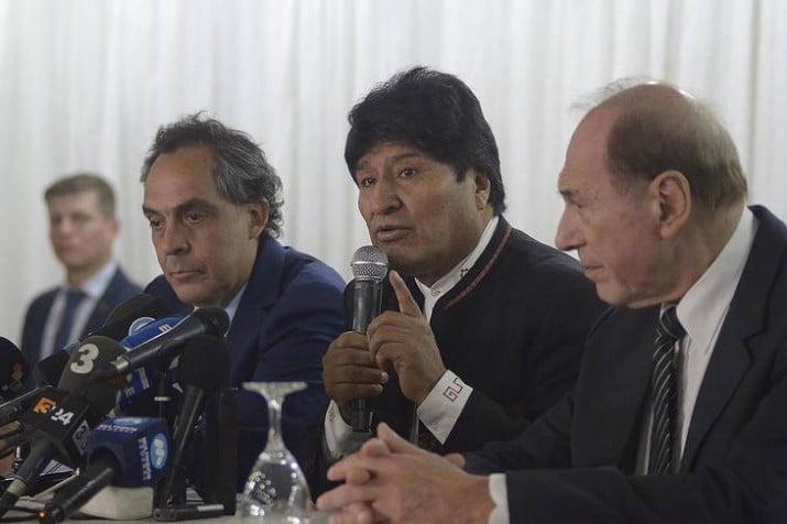 El juez Zaffaroni asumió la defensa de Evo Morales