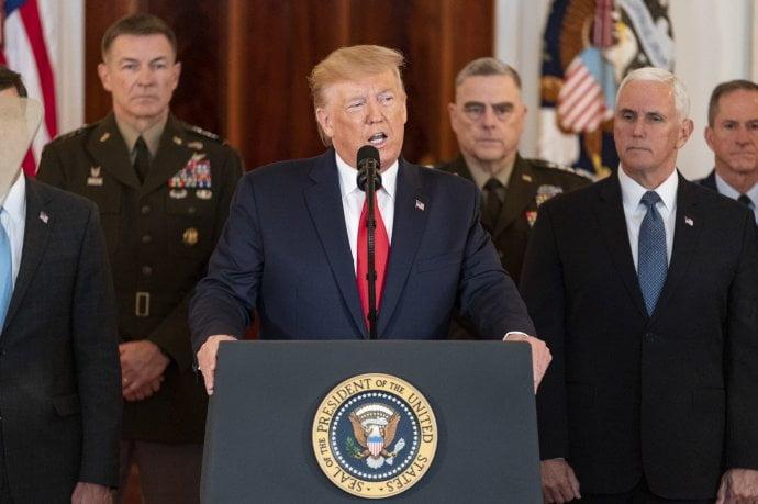 Trump anunció fuertes sanciones económicas a Irán