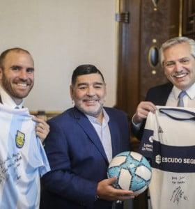 """Alberto Fernández volvió a descartar el regreso de """"Fútbol Para Todos"""""""
