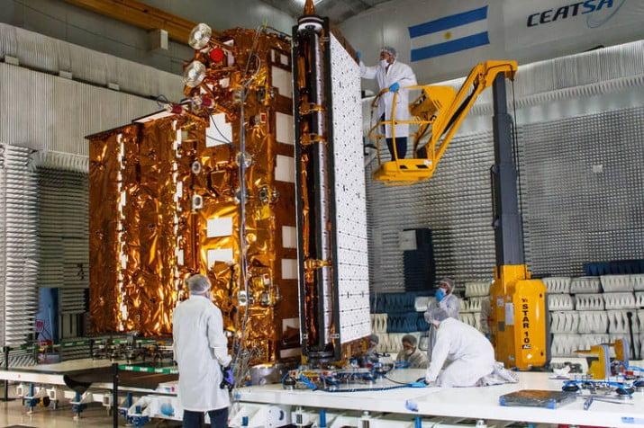 Argentina lanzará un nuevo satélite al espacio el 30 de marzo