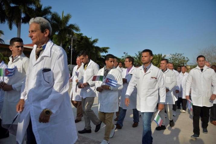 Salud bonaerense también evaluará la oferta de Cuba de enviar médicos