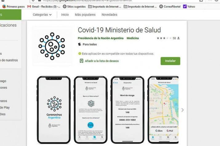 El gobierno lanza una app para hacerse un autotest de coronavirus