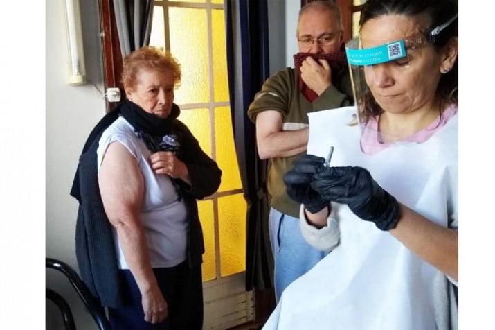 Vacuna antigripal: IOMA lanzó un servicio a domicilio