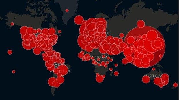 ¿Cuáles son los 16 paises sin contagios por coronavirus?