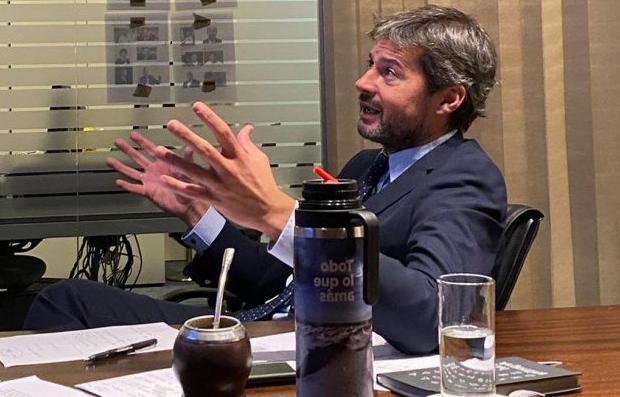 """Lammens no descartó que el fútbol pueda """"mudarse"""" a las provincias del norte"""
