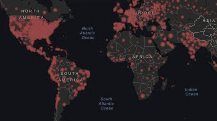 Coronavirus: más de 10 millones de casos y casi 500 mil muertos en el mundo