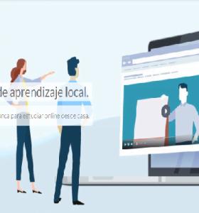 Se lanzó la plataforma online Clases en Casa