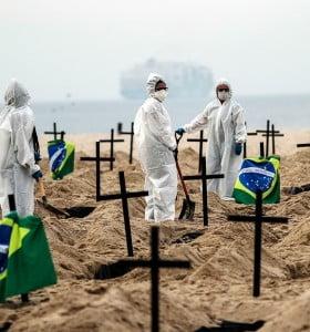 Brasil superó los 1,75 millones de casos