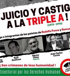 """Hoy se reinicia el juicio por delitos de Lesa Humanidad cometidos por la """"Triple A"""""""