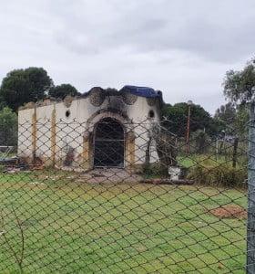 Incendiaron estructuras del ex zoológico ubicado en el Parque Independencia