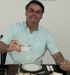 Bolsonaro, positivo de coronavirus y con 67 mil muertos