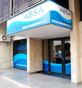 ABSA anunció que empieza a cobrar con el aumento