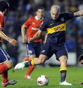 Boca igualó con Independiente en La Bombonera por el partido de ida de la Sudamericana