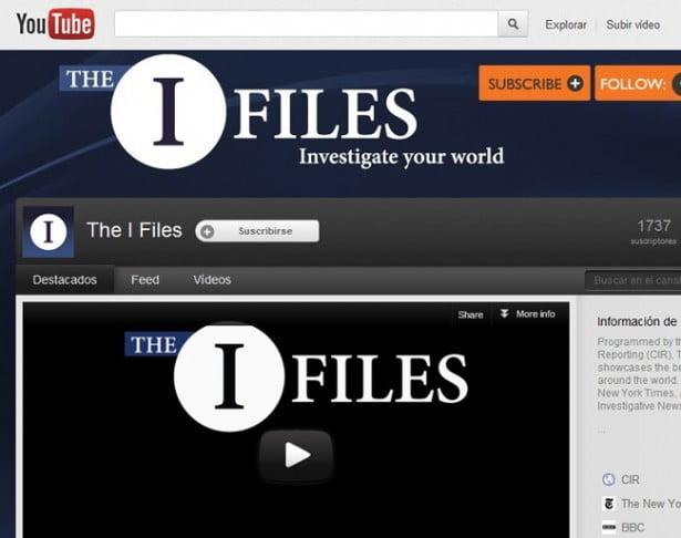 El periodismo de investigación llega a YouTube