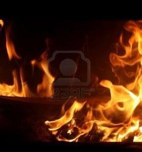 Un hombre sufrió graves heridas en un incendio