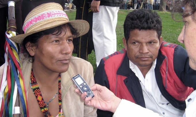 Los indígenas colombianos denunciaron 54 asesinatos