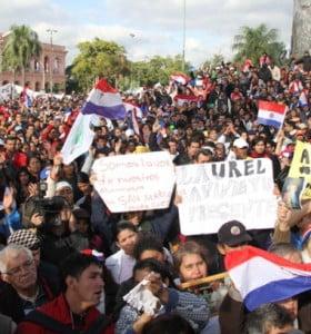 Paraguay: coordinan acciones para recuperar la democracia