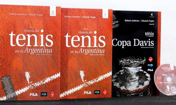 Un libro recorre los 135 años del tenis en la Argentina