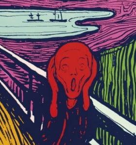 Subastan tres grabados de Warhol basados en Munch