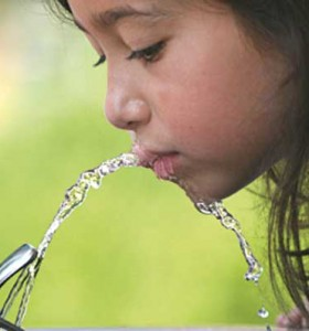 Niños obesos: tomar agua disminuye riesgos