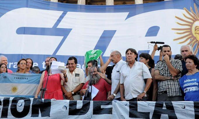 Marchó Micheli junto a ruralistas y Camioneros