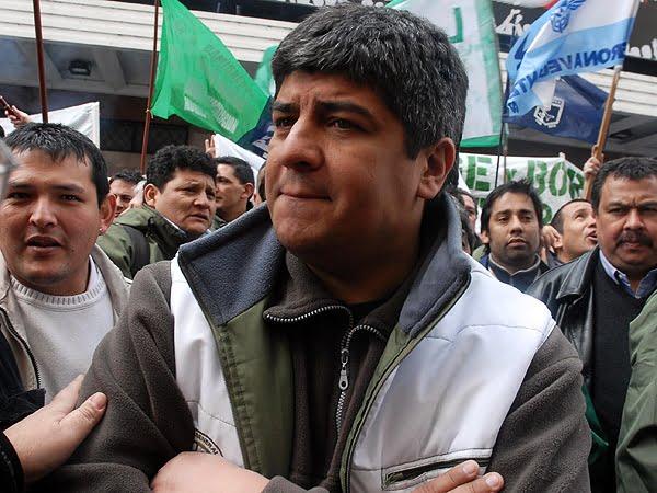 Pablo Moyano admitió que su padre trabaja en el armado de un frente electoral