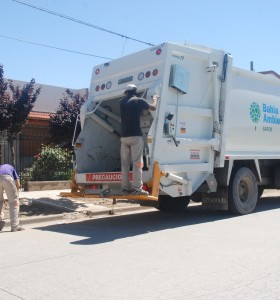El paro demoró el servicio de recolección en algunos barrios