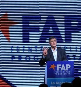 En su relanzamiento el FAP presentó su plan a 20 años