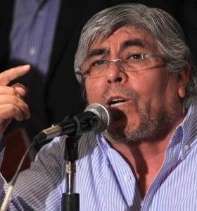 Moyano anunció un acto masivo con la presencia de la UCR y de Barrionuevo