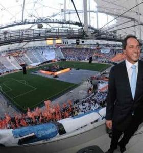 """Scioli """"cierra"""" un difícil 2012 con un millonario acto en el Estadio Único"""