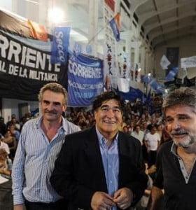 Dirigentes y funcionarios celebraron la ley de medios y recuperación de la Fragata