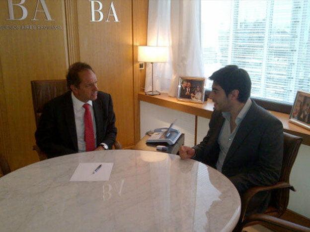 Daniel Scioli se reunió con diputados enfrentados con la Casa Rosada