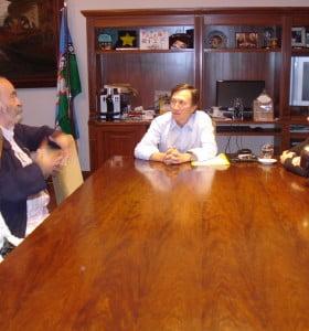 El Intendente se reunió con representantes de organismos de derechos humanos