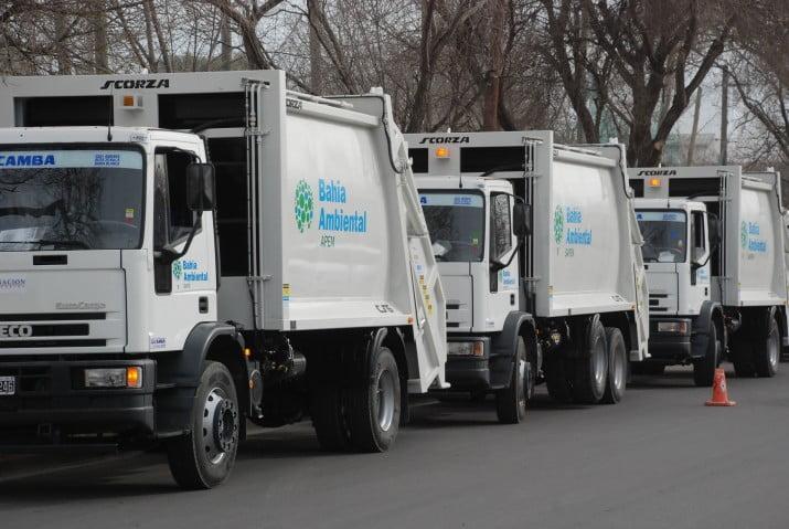 Llegaron los nuevos camiones para la Sapem