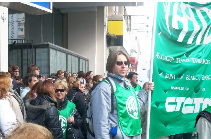 """""""Nos están poniendo a trabajadores contra trabajadores"""""""