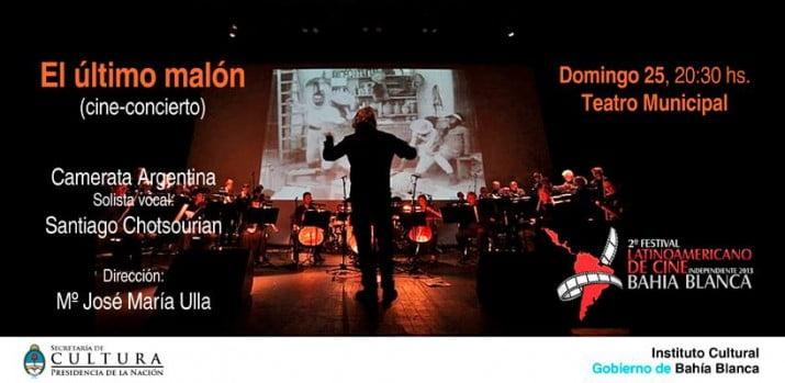 """""""El último Malón"""" con orquesta en vivo"""