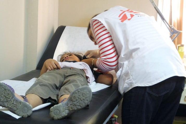 SIRIA: Miles de pacientes con síntomas neurotóxicos son atendidos en tres hospitales apoyados por Médicos Sin Fronteras
