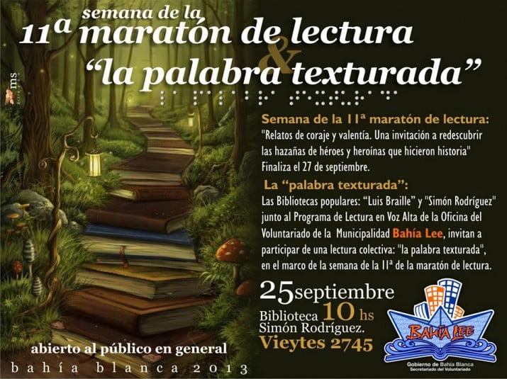11° Maratón nacional de lectura